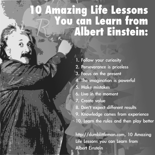 In honor of Einstein's birthday and Pi day, some life ...