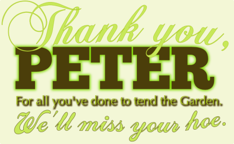 Farewell to Peter Bromberg